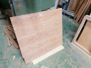 Cabecero de madera, fabricación
