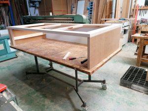 Proceso de fabricación de cama nido